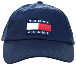 Tommy Jeans Sky Captain Cotton Flag Baseball Cap