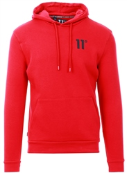 11degrees Ski Patrol Red Core Pullover Hoodie