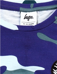 Hype Forest/Blue Camo Kids T-Shirt