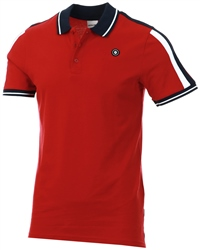Jack & Jones Rio Red Taped Polo Shirt
