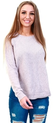 Veromoda Purple / Woodrose Loose Fitted Knitted Pullover