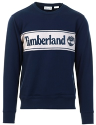 Navy Appliqué Sweatshirt by Timberland