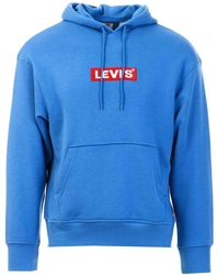 Levi's Bayside Terrace - Blue Relaxed Graphic Hoodie