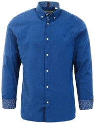 Jack & Jones Navy Blazer Plain Long Sleeve Shirt