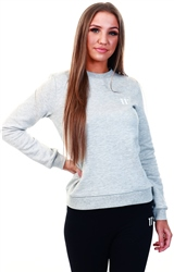 11degrees Grey Marl Core Sweatshirt