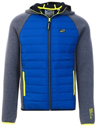 Jack & Jones Navy Padded Front Quilted Jacket