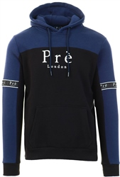 Pre London Black/Navy Eclipse Hoodie
