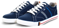 Xti Navy Canvas Trainer