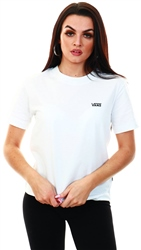Vans White Junior V Boxy T-Shirt