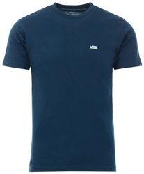 Vans Navy/White Left Chest Logo T-Shirt