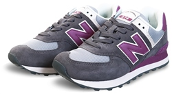 New Balance Castlerock With Kite Purple 574 Mesh Trainer