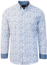 Superdry Optic Paisley Classic Shoreditch Print Long Sleeve Shirt