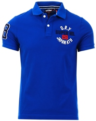 Superdry Vivid Cobalt Classic Superstate Polo Shirt