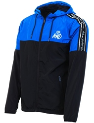 Kings Will Dream Blue/Black Barnton Windrunner Jacket