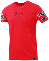 Pre London Red Vichy T-Shirt
