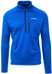 Sodalite Blue Spitzer Half Zip Fleece by Berghaus