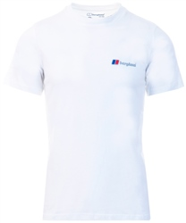 White Corporate Logo Tee by Berghaus
