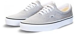 Vans Silver/True White Era Shoes
