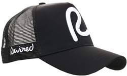 Rewired Black/White R Trucker