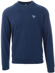 Barbour Beacon Navy Beacon Crew Sweat