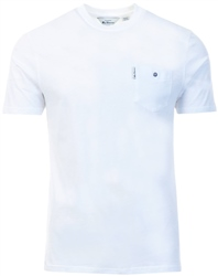 White Signature Tee by Ben Sherman