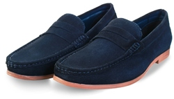 Catesby Navy Slip On Shoe