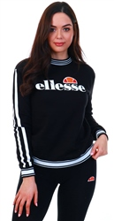 Ellesse Black Susanna Crew Neck Sweater