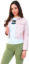 Urban Bliss Pink Denim Short Jacket