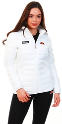 Ellesse White Lompard Padded Jacket