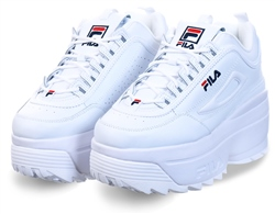 Fila White Disruptor Wedge Trainer
