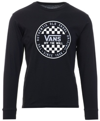 Vans Black Og Checker T-Shirt