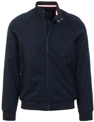 Brave Soul Navy Zip Up Jacket