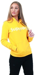 Superdry Sporty Ochre Registered Flock Hoodie