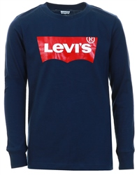 Dress Blue Long Sleeved Batwing Tee Kids by Levi's®