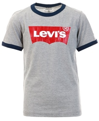 Levi's® Grey Batwing Ringer Tee