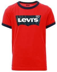 Super Red Batwing Ringer Tee by Levi's®