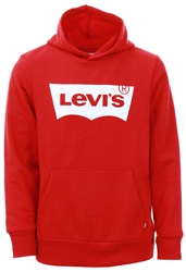 Red/White Batwing Screenprint Hoodie Kids by Levi's®