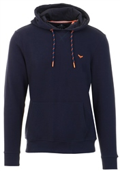 Threadbare Navy Pull Over Hoodie