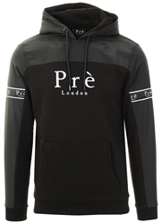 Pre London Black Eclipse Nylon Hoodie