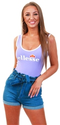 Ellesse Purple Lils Bodysuit