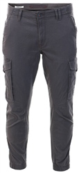 Jack & Jones Charcoal / Asphalt Paul Flake Akm 542 Cargo Pants