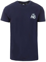 Kings Will Dream Navy Travis Crew Tee