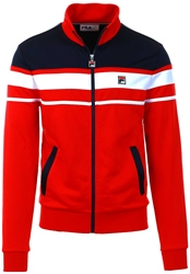 Fila Peacoat/White Gordon Zip Track Jacket