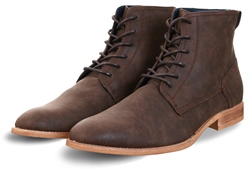 Cavani Brown Hurricane Lace Up Boots