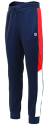 P3eacoat/White Crady Track Pant by Fila