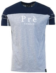 Pre London Navy/Grey Eclipse T-Shirt