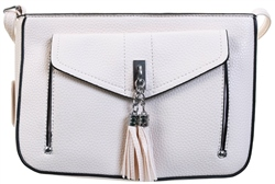 Koko White Shoulder Bag