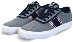 Jack & Jones Light Blue Canvas Trainer
