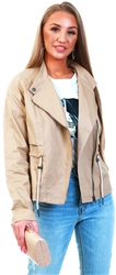 Noisy May Beige / Nomad Penna Short Jacket