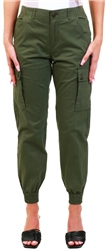 Veromoda Green / Ivy Green Cargo Pocket Pants